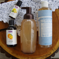 Foaming Hand Soap with Essential Oils and Castile Soap